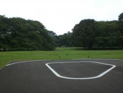 二子玉川 砧公園 ゴルフ場の痕跡