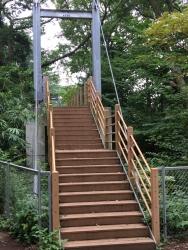 二子玉川 砧公園 吊橋1