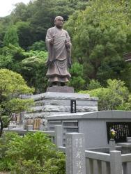 鎌倉 妙本寺 日蓮聖人像