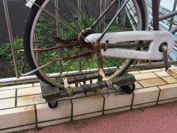 レインボーブリッジ 自転車に取り付ける台車2