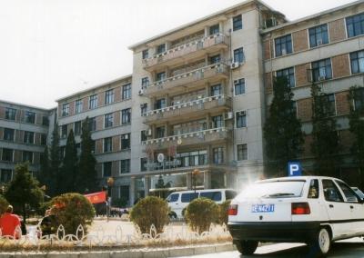 北京大学留学生楼「勺園」 2002年 北京
