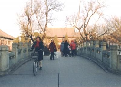 北京大学構内を撮影 2005年 北京