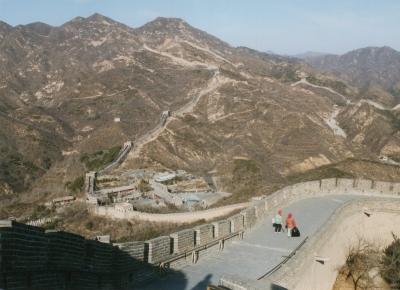 万里長城 2003年3月9日
