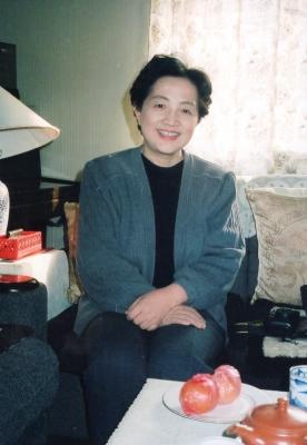 .陳真先生のお宅へ伺った折のプライベート・ショット。 1992年