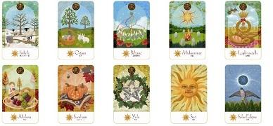 太陽と月の魔女カード 太陽