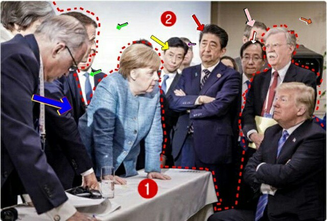 NHK「画像合成フェイク」安倍晋三放送局、G7世界政治から蚊帳の外でないとアピールしたのか!誰が見て