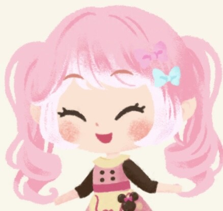 ピンクガール 笑顔