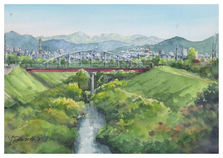 2018年9月手稲水道橋
