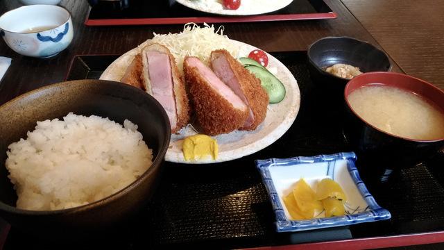 食采楽座 秀 〜shu〜 ベーコンカツ定食