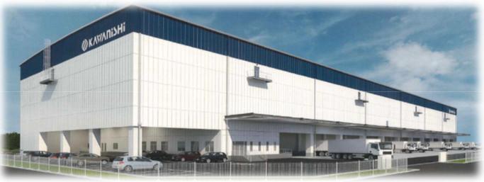 20180719川西倉庫の埼玉新倉庫