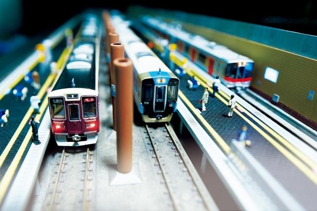 20180726高速神戸駅の模型