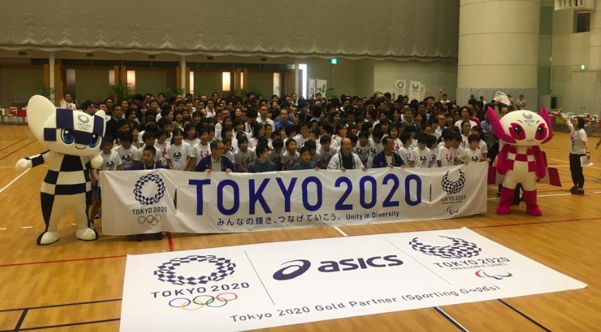20180801アシックス五輪パラリンピック旗