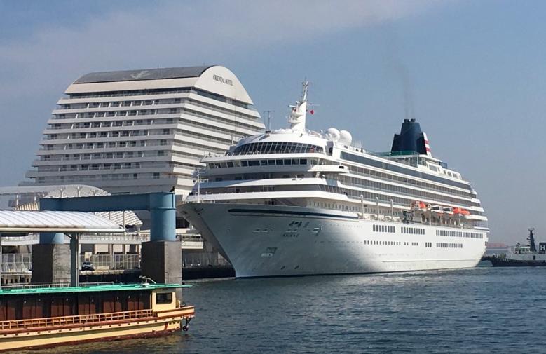 20180801神戸港クルーズ船