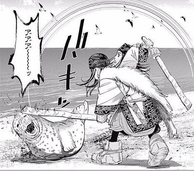 【画像】アニメ顔アザラシ「水面から頭出そ…外暑っつ!!!!」