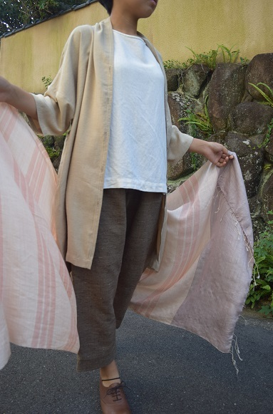 ムガ絹羽織
