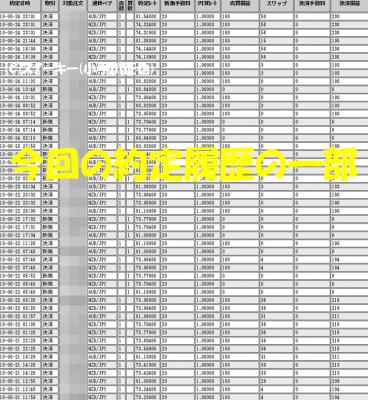 20180825トラッキングトレード検証約定履歴