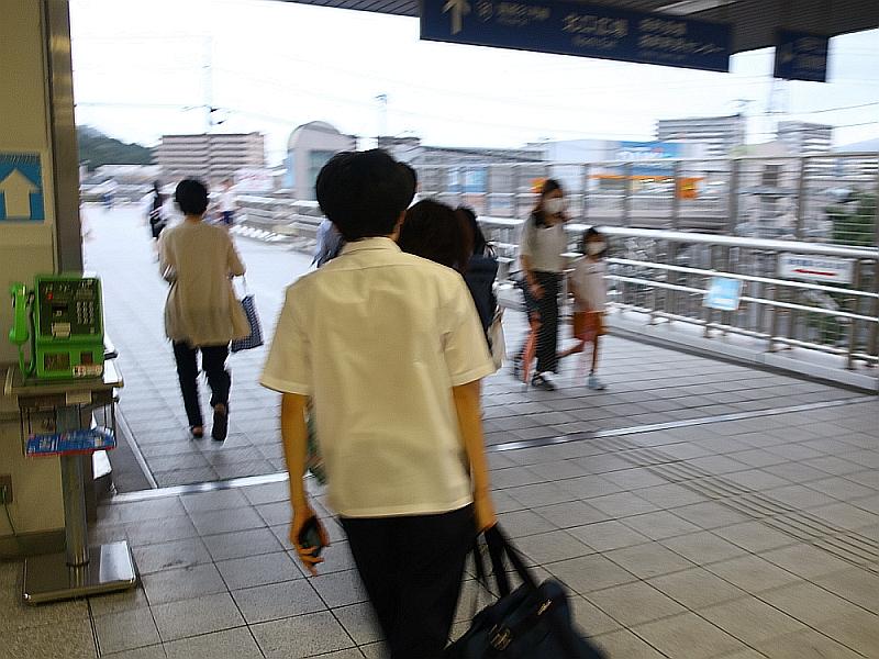 2018_09_07 西日本豪雨 坂-呉代行バス 呉-阿賀JR04