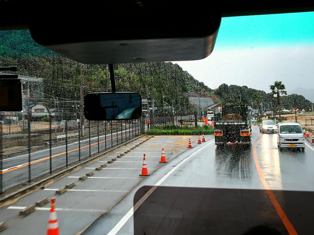2018_09_07 西日本豪雨 坂-呉代行バス 呉-阿賀JR11