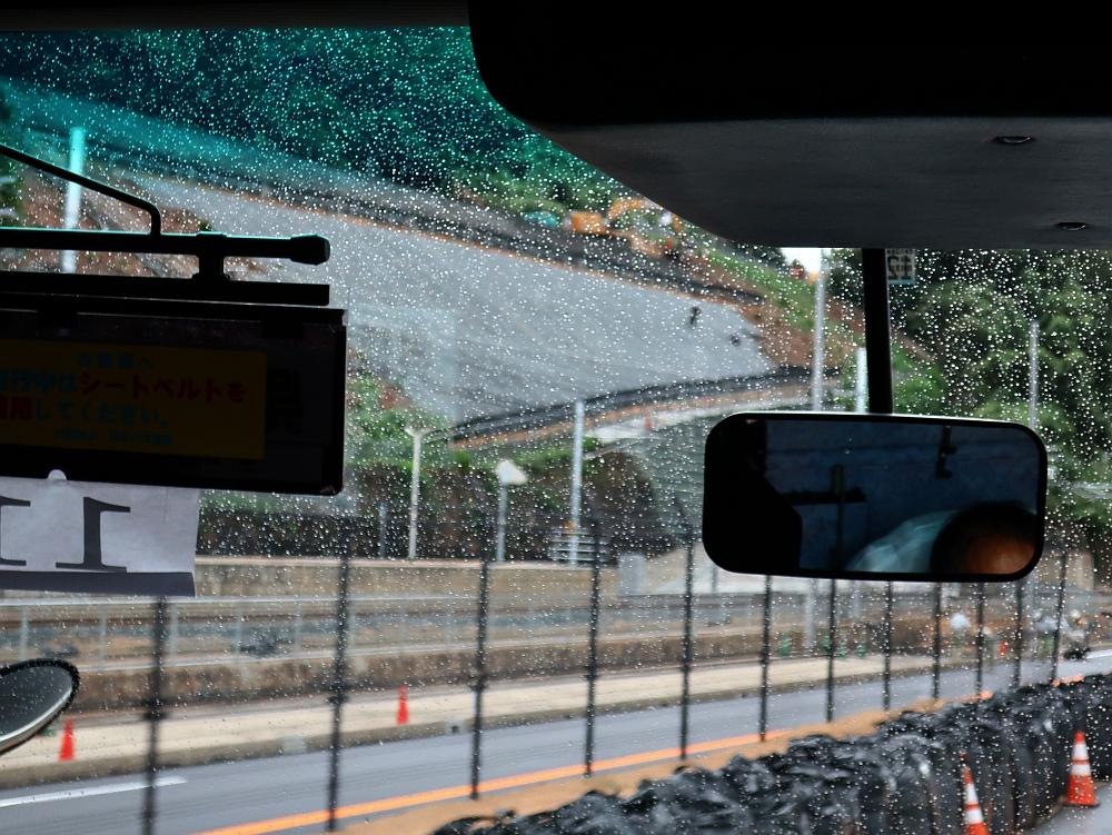 2018_09_07 西日本豪雨 坂-呉代行バス 呉-阿賀JR12