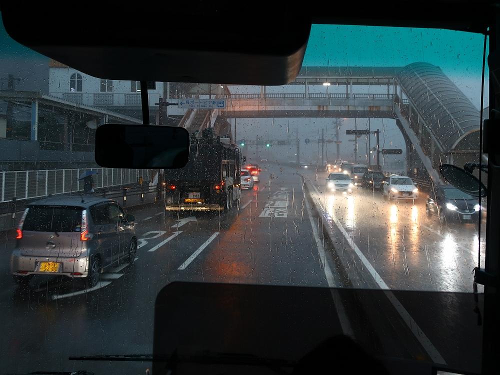 2018_09_07 西日本豪雨 坂-呉代行バス 呉-阿賀JR13