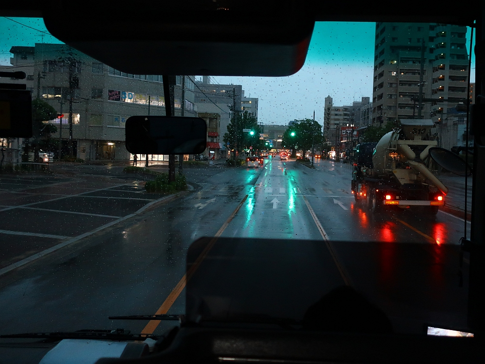 2018_09_07 西日本豪雨 坂-呉代行バス 呉-阿賀JR18