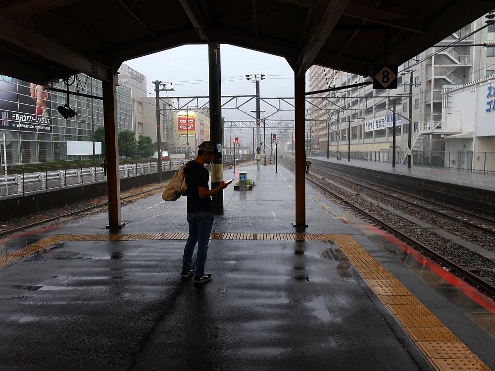 2018_09_07 西日本豪雨 坂-呉代行バス 呉-阿賀JR29