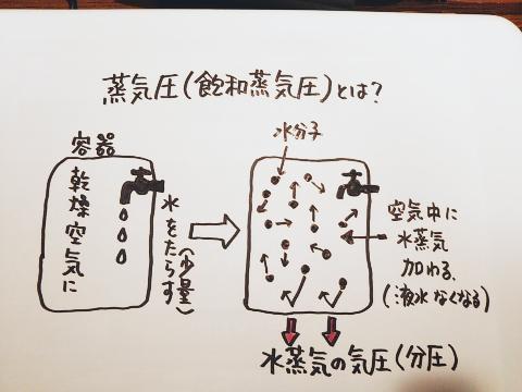蒸気圧(不飽和)1
