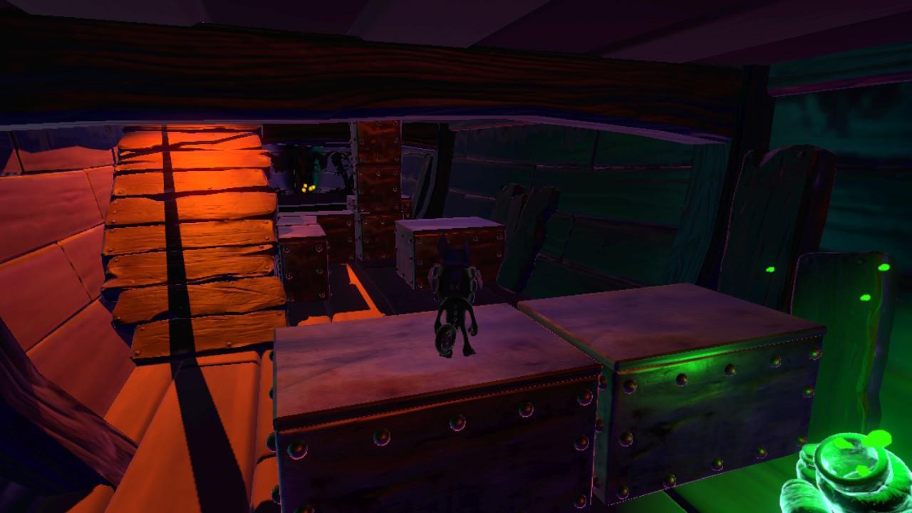 ユーカレイリー® ガレオン-暗闇の中の海賊船-1
