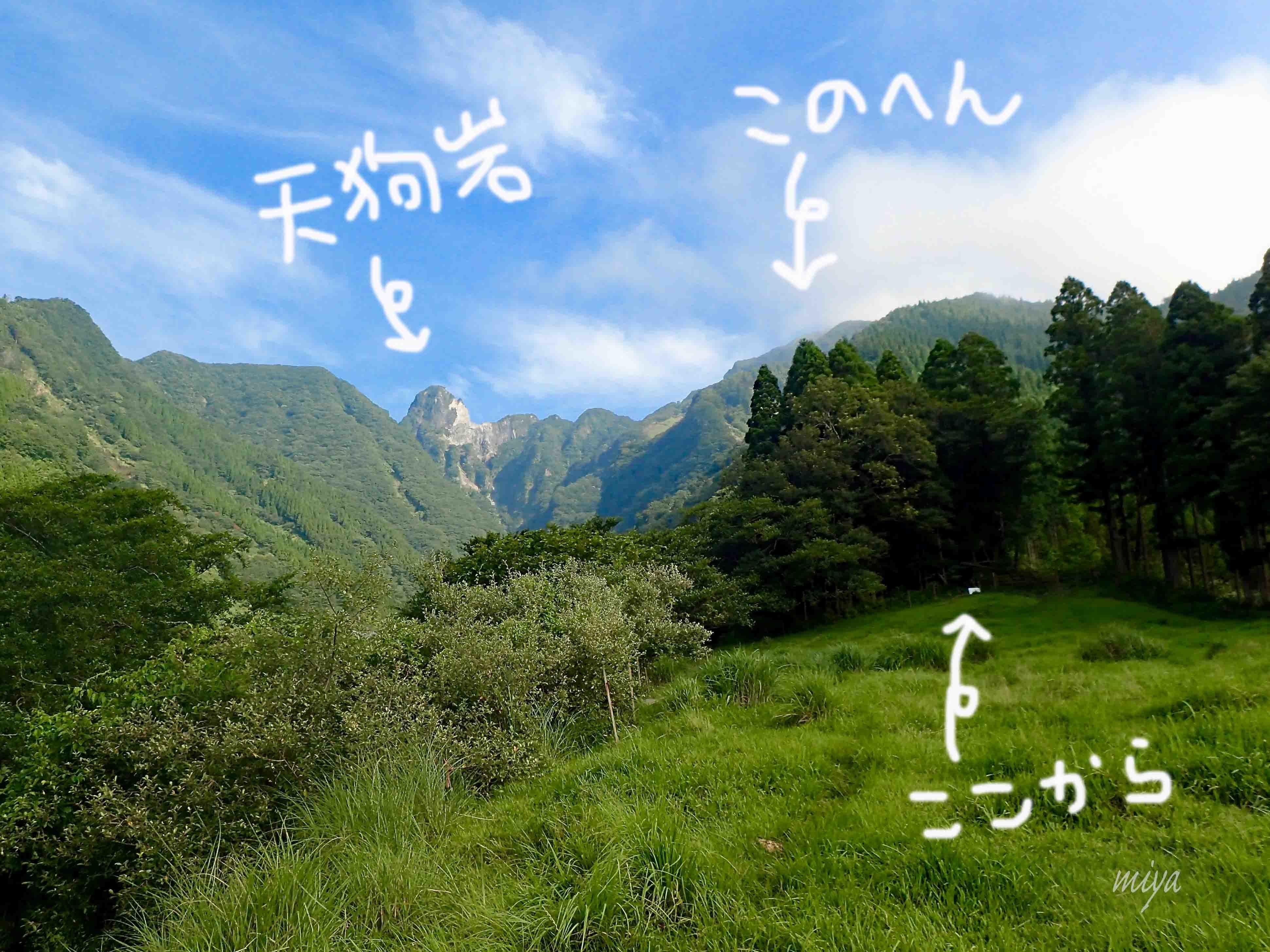 根子岳登山口mP8070069