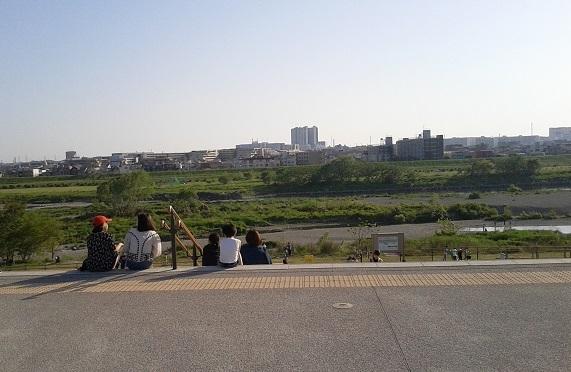 二子玉の公園