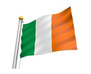 2018年8月会報アイルランド国旗