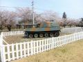初日の戦車