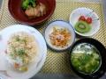 日本人なら洋食でも米でしょう!エビピラフ~♪