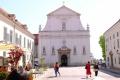 サンマルコ教会の右が国会議事堂、左が首相官邸だ