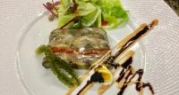 秋刀魚と秋茄子のミルフィーユ