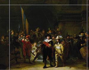 夜警 切断線あり 300px-Nachtwacht-kopie-van-voor-1712