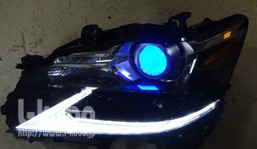 レクサスGSヘッドライト移植4