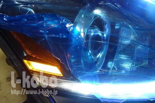 レクサスISサイドマーカー1