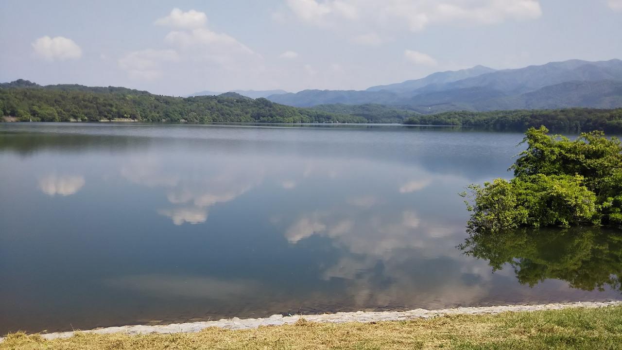 香川 満濃池