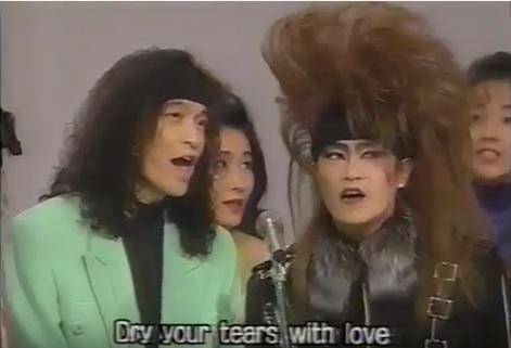 1992紅白 小野さんとToshiさん
