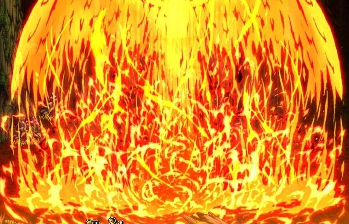 炎エフェクトくのいち9-2