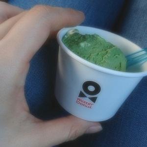 ミスド 抹茶アイス