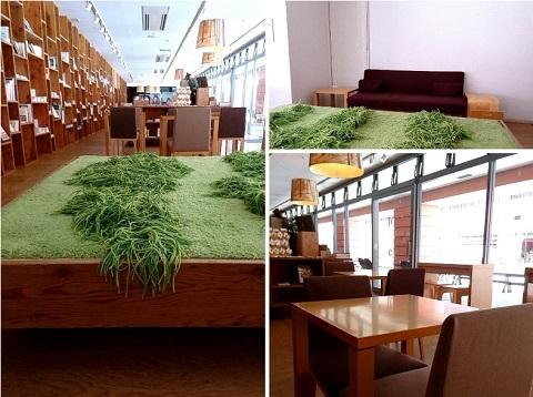 リゾナーレ八ヶ岳 ブックカフェ