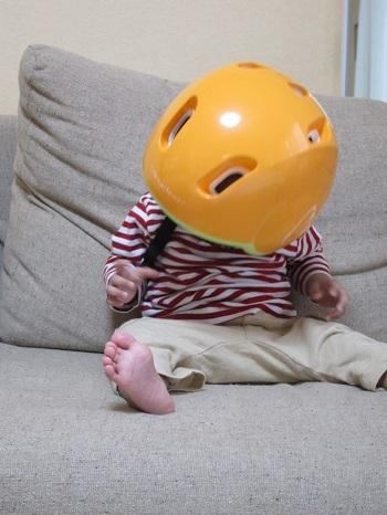 赤ちゃん ヘルメット