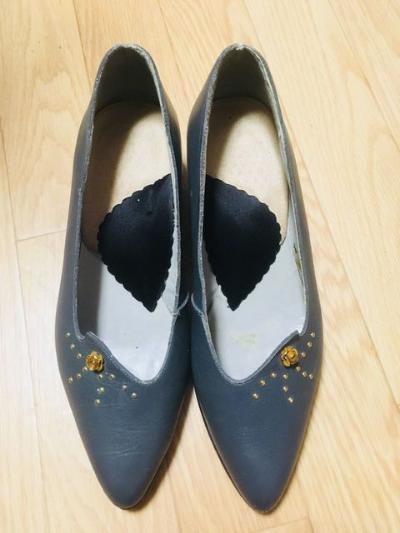 パンプス ヒール修正 靴