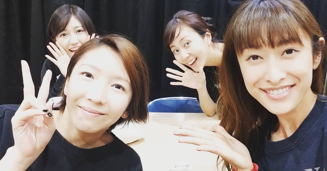 山田優さんのInstagramに【まゆゆ】