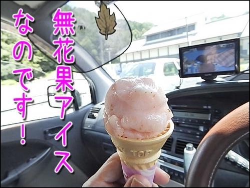 いちじくアイスおいしいんだよ