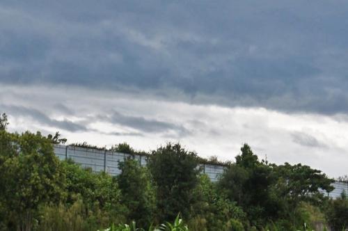 空も曇ってきた