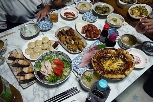 敬老の日夕飯