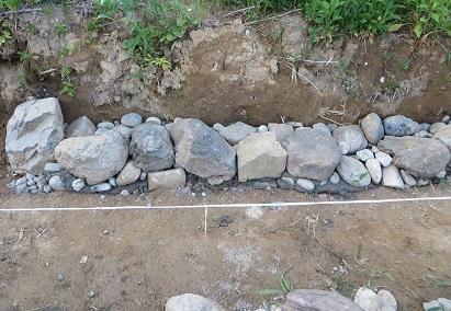 石詰め、セメント・4